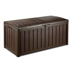 Zahradní plastový úložný box GLENWOOD - 128 x 65 x 61 cm