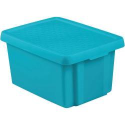 Úložný box s víkem 16L - modrý CURVER