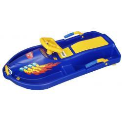 Řiditelný bob Snow Boat - modrý