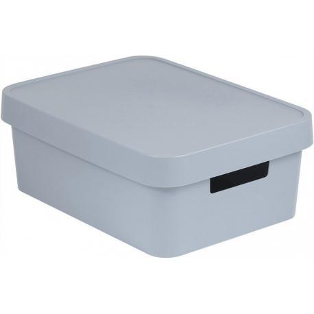 Úložný box INFINITY 11L - šedý