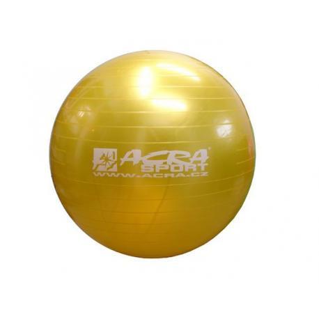 Míč gymnastický (gymbal) 900 mm žlutý