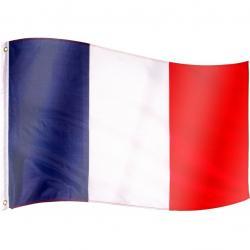 Vlajka Francie - 120 cm x 80 cm