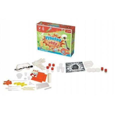 Výbušná věda vědecká hra 25 pokusů Science 4 you v krabici 38x29x8cm