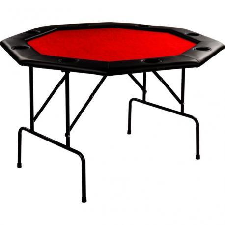 Pokerový stůl - červený