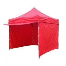 Zahradní párty stan PROFI STEEL 3 x 3 - červená