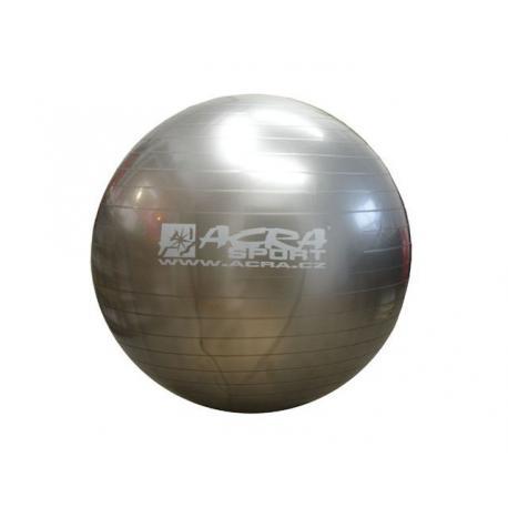 Míč gymnastický (gymball) 550 mm šedý