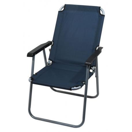 Kempingová skládací židle LYON - tmavě modrá