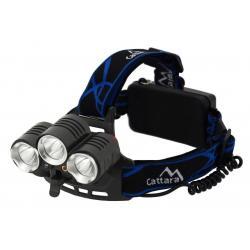 Čelovka LED 400lm (1x XM-L+2x XP-E)