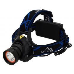 Čelovka LED 400lm (1x XM-L+15x SMD)