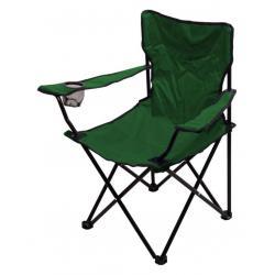 Kempingová skládací židle BARI - zelená