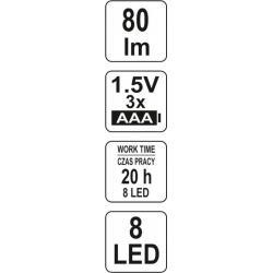 Jednoruční nakládací činka - 14 kg