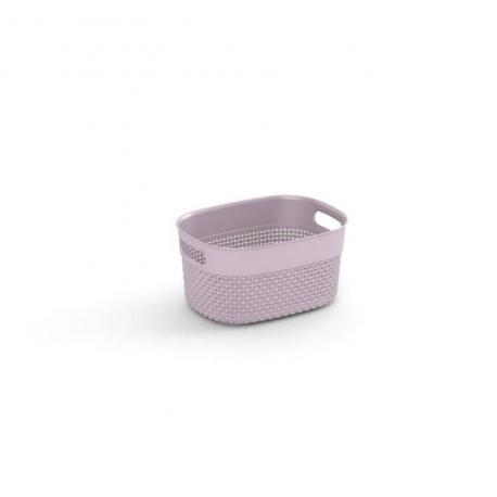 Plastový košík FILO XS - růžový