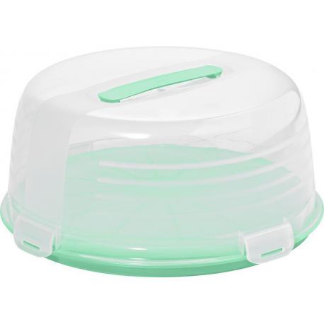 Plastový podnos CAKE BOX - mint