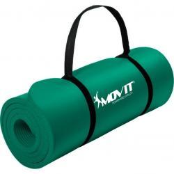 Gymnastická podložka Movit 183 x 60 x 1 cm - tmavě zelená