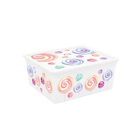 Plastový úložný box KIS C PORTOBELLO - M