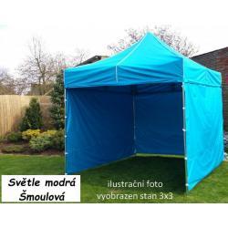 Zahradní párty stan PROFI STEEL 3 x 6 - světle modrá