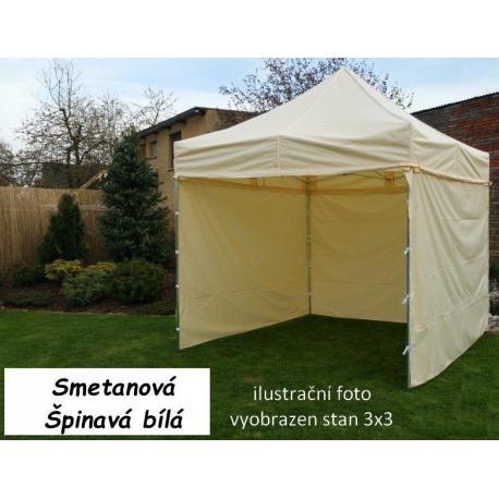 Zahradní párty stan PROFI STEEL 3 x 6 - smetanová