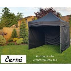 Zahradní párty stan PROFI STEEL 3 x 4,5 - černá