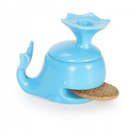 Velrybí hrníček s nahřívátkem sušenek