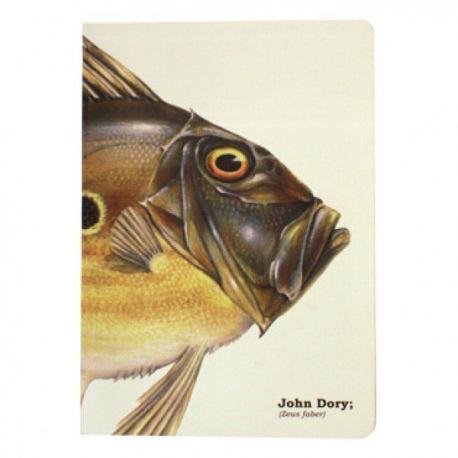 Linkovaný sešit A5 s rybou