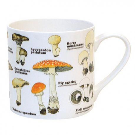 Hrnek s houbami