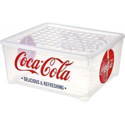 Box s víkem -10L - COCA COLA CURVER