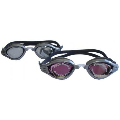 Brýle plavecké závodní se zrcadlovkou