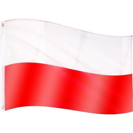 Vlajka Polsko - 120 cm x 80 cm