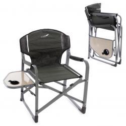 Sada 2 x kempinková židle se stolkem a držákem nápojů
