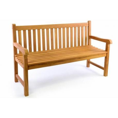 Zahradní lavice DIVERO 3-místná masiv 150 cm