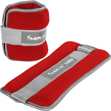 Neoprenové zátěžové manžety reflexní - 2 x 1,5 kg