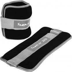 Neoprenové zátěžové reflexní manžety - 2 x 2 kg