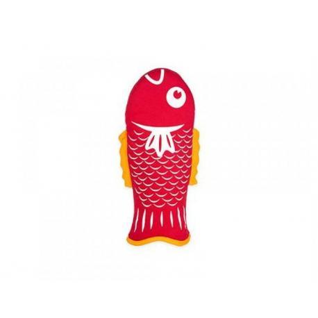 Kuchyňská chňapka rybička - červená