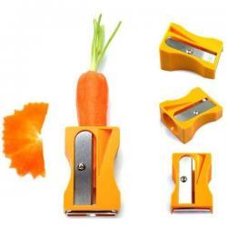 Ořezávátko a škrabka na mrkev a zeleninu - Žlutá