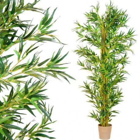 Umělá květina strom -  bambus - 220 cm