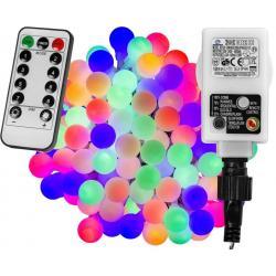Párty LED osvětlení 5 m - barevné 50 diod + ovladač