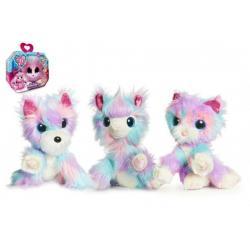 Zvířátko FUR BALLS plyš Touláček CANDY FLOSS pejsek/kočka/lama s doplňky v krabici 24x20x10cm