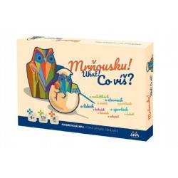Mrňousku! Ukaž!, co víš? společenská magnetická hra v krabici 42x29x6cm