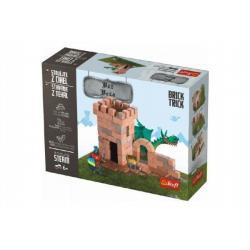 Stavějte z cihel Věž stavebnice Brick Trick v krabici 28x21x7cm