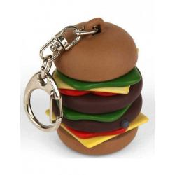 Mini hamburger - klíčenka