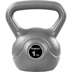 Kettlebell činka šedá - 1 kg