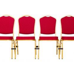 Plastová spona pro banketové židle
