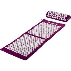 Akupresurní podložka s polštářem MOVIT 130 x 50 cm - fialová