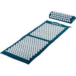 Akupresurní podložka s polštářem MOVIT 130 x 50 cm - tyrkysová