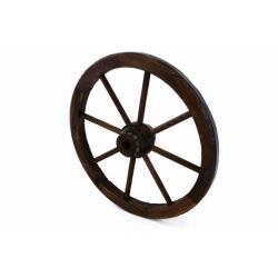 Dřevěné kolo 50 cm - stylová rustikální dekorace Garth