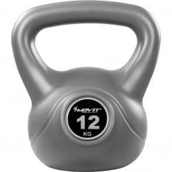 Kettlebell činka šedá - 12 kg