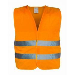 Vesta výstražná - XXL, oranžová