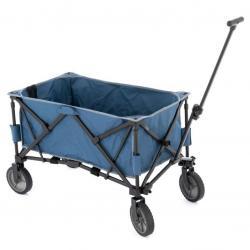 Transportní skládací vozík - modrý