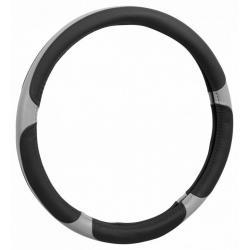 Potah volantu GRIP - šedý/černý