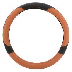 Potah volantu COLOR LINE - oranžový/černý